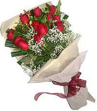 11 adet kirmizi güllerden özel buket  Çanakkale çiçek mağazası , çiçekçi adresleri