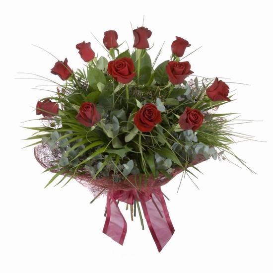 Etkileyici buket 11 adet kirmizi gül buketi  Çanakkale çiçek online çiçek siparişi