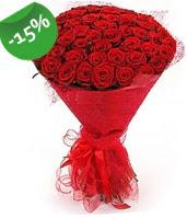 51 adet kırmızı gül buketi özel hissedenlere  Çanakkale hediye sevgilime hediye çiçek