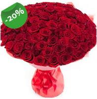 Özel mi Özel buket 101 adet kırmızı gül  Çanakkale çiçek gönderme sitemiz güvenlidir