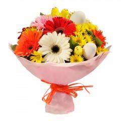 Karışık mevsim buketi Mevsimsel çiçek  Çanakkale çiçek mağazası , çiçekçi adresleri