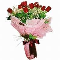 Çanakkale hediye sevgilime hediye çiçek  12 adet kirmizi kalite gül