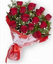 11 adet kırmızı gül buketi  Çanakkale online çiçekçi , çiçek siparişi