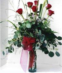 Çanakkale hediye sevgilime hediye çiçek  7 adet gül özel bir tanzim