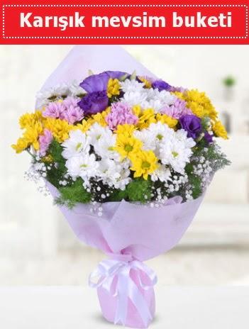 Karışık Kır Çiçeği Buketi  Çanakkale ucuz çiçek gönder
