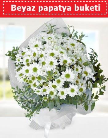 Beyaz Papatya Buketi  Çanakkale İnternetten çiçek siparişi