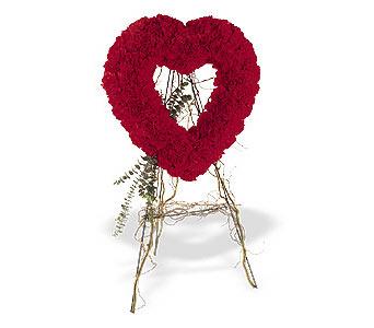 Çanakkale çiçek online çiçek siparişi  karanfillerden kalp pano