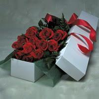 Çanakkale güvenli kaliteli hızlı çiçek  11 adet gülden kutu