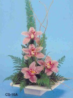 Çanakkale online çiçek gönderme sipariş  vazoda 4 adet orkide