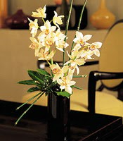 Çanakkale çiçek servisi , çiçekçi adresleri  cam yada mika vazo içerisinde dal orkide
