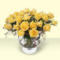 Çanakkale online çiçek gönderme sipariş  11 adet sari gül cam yada mika vazo içinde