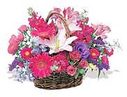 küçük karisik özel sepet   Çanakkale çiçek gönderme