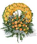 cenaze çiçegi celengi cenaze çelenk çiçek modeli  Çanakkale çiçekçiler