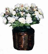 yapay karisik çiçek sepeti   Çanakkale yurtiçi ve yurtdışı çiçek siparişi