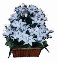 yapay karisik çiçek sepeti   Çanakkale güvenli kaliteli hızlı çiçek
