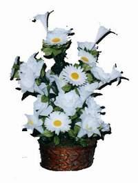 yapay karisik çiçek sepeti  Çanakkale kaliteli taze ve ucuz çiçekler