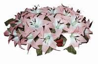 yapay karisik çiçek sepeti   Çanakkale anneler günü çiçek yolla