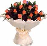 11 adet gonca gül buket   Çanakkale çiçekçiler