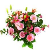 lilyum ve gerbera çiçekleri - çiçek seçimi -  Çanakkale çiçek siparişi vermek