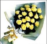 sari güllerden sade buket  Çanakkale cicekciler , cicek siparisi