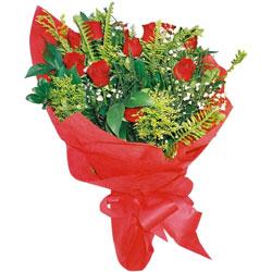 11 adet gül buketi sade ve görsel  Çanakkale online çiçekçi , çiçek siparişi