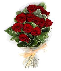 Çanakkale çiçek siparişi sitesi  9 lu kirmizi gül buketi.