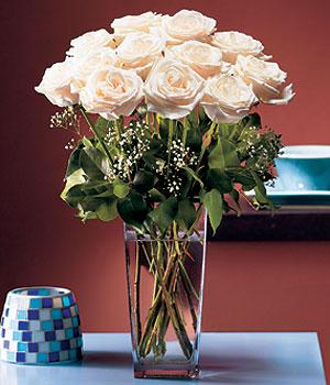 Çanakkale çiçek yolla  Cam yada mika vazo içerisinde 12 gül