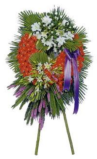 Çanakkale yurtiçi ve yurtdışı çiçek siparişi  cenaze çelengi