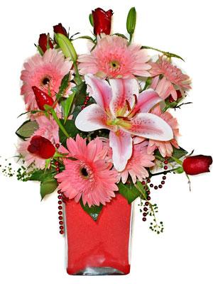 Çanakkale yurtiçi ve yurtdışı çiçek siparişi  karisik cam yada mika vazoda mevsim çiçekleri mevsim demeti