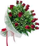 Çanakkale çiçek online çiçek siparişi  11 adet kirmizi gül buketi sade ve hos sevenler