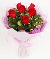 9 adet kaliteli görsel kirmizi gül  Çanakkale çiçek siparişi vermek