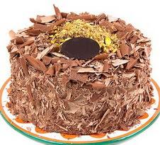 çikolatali 4 ile 6 kisilik yas pasta  Çanakkale çiçekçi telefonları