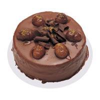 Kestaneli çikolatali yas pasta  Çanakkale cicekciler , cicek siparisi
