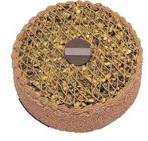 Krokanli 4 ile 6 kisilik yas pasta leziz  Çanakkale çiçek siparişi vermek