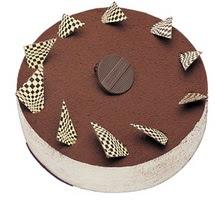 Tirasumulu yas pasta 4 ile 6 kisilik pasta  Çanakkale yurtiçi ve yurtdışı çiçek siparişi
