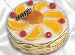 lezzetli pasta satisi 4 ile 6 kisilik yas pasta portakalli pasta  Çanakkale anneler günü çiçek yolla