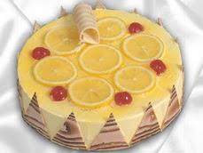 taze pastaci 4 ile 6 kisilik yas pasta limonlu yaspasta  Çanakkale güvenli kaliteli hızlı çiçek