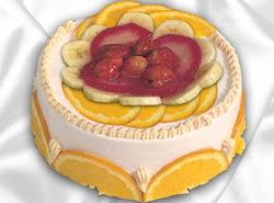 leziz pastane 4 ile 6 kisilik yas pasta meyvali yaspasta  Çanakkale çiçek , çiçekçi , çiçekçilik