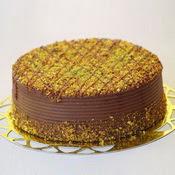 sanatsal pastaci 4 ile 6 kisilik krokan çikolatali yas pasta  Çanakkale yurtiçi ve yurtdışı çiçek siparişi