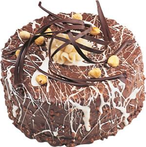 pasta satisi 4 ile 6 kisilik çikolatali yas pasta  Çanakkale internetten çiçek satışı