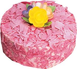 pasta siparisi 4 ile 6 kisilik framboazli yas pasta  Çanakkale internetten çiçek siparişi