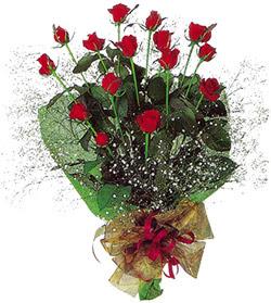 11 adet kirmizi gül buketi özel hediyelik  Çanakkale anneler günü çiçek yolla