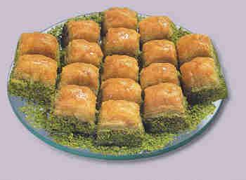 pasta tatli satisi essiz lezzette 1 kilo fistikli baklava  Çanakkale çiçek mağazası , çiçekçi adresleri