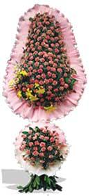 Dügün nikah açilis çiçekleri sepet modeli  Çanakkale online çiçek gönderme sipariş