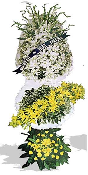 Dügün nikah açilis çiçekleri sepet modeli  Çanakkale cicekciler , cicek siparisi