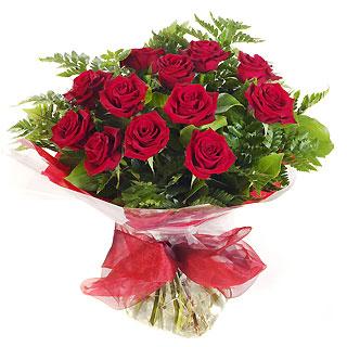 Ucuz Çiçek siparisi 11 kirmizi gül buketi  Çanakkale çiçek gönderme