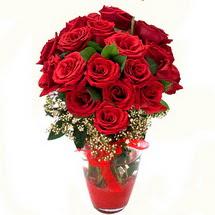 Çanakkale hediye sevgilime hediye çiçek   9 adet kirmizi gül