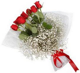 7 adet essiz kalitede kirmizi gül buketi  Çanakkale çiçek yolla