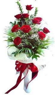 Çanakkale uluslararası çiçek gönderme  10 adet kirmizi gül buketi demeti
