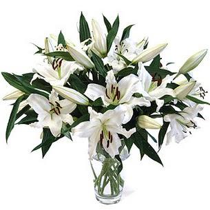 Çanakkale online çiçek gönderme sipariş  3 dal görsel casablanca vazo tanzimi